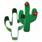 Green Cactus Cookie Cutter