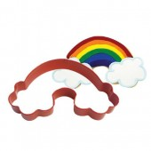 Red Rainbow Cookie Cutter