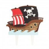 Gum Paste Pirate Ship Topper