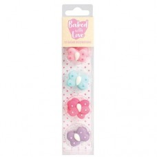 Baked with Love Sugar Pipings - Butterflies Pk/12