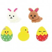 Bulk Easter Sugar Decoraions Box/90