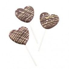 SilikoMart Chocolate Lolly Love Mould