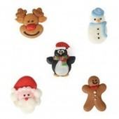 Bulk Christmas Friends Sugar Pipings Box/200