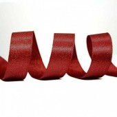 15mm Scarlet Sparkle Ribbon