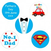 """Father's Day Cupcake Toppers - 15 x 2"""""""
