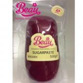 Beau Burgandy Sugarpaste 500g