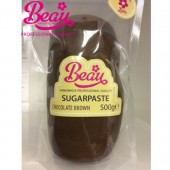 Beau Chocolate Brown Sugarpaste 500g