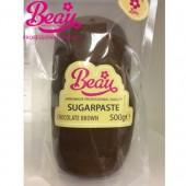 Beau Chocolate Brown Sugarpaste 500g
