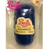 Beau Cornflower Blue Sugarpaste 500g