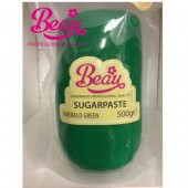 Beau Emerald Green Sugarpaste 500g