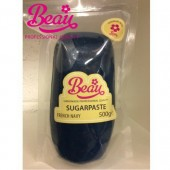Beau French Navy Sugarpaste 500g