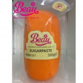 Beau Mango Lily Sugarpaste 500g