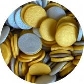 Jumbo Gold & Silver Glimmer Confetti 70g