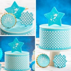 Decora Cake Stencil - Mermaid