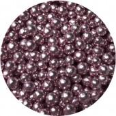 4mm Pink Metallic Pearls 80g