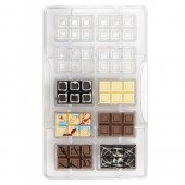 Decora Chocolate Mould -Mini Bar