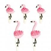 Decora Flamingos Sugar Decorations Pk/5