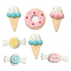 Decora Sweet Sugar Decorations Pk/7