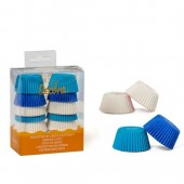 Decora White, Light Blue & Blue Mini Buncases Pk/200