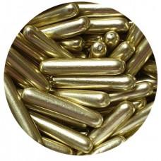 Gold Metallic Macaroni Rods 70g
