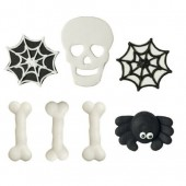 Decora Scary Sugar Decorations Pk/7