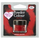 Rainbow Dust Powder Colour - Chili Red