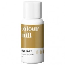 Colour Mill Oil Based Colouring 20ml - Mustard