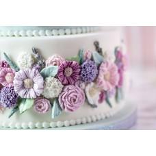 Karen Davies Buttercream Flowers Mould