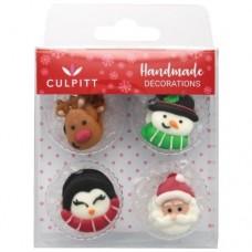 Culpitt Christmas Favourites Sugar Pipings Pk/12
