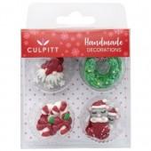 Culpitt Nordic Christmas Sugar Pipings Pk/12