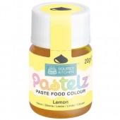 Squires Pastelz Paste Colours - Lemon