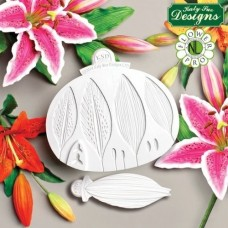 Flower Pro Lily Silicone Mould & Veiner