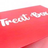 Red Treat Cupcake Boxes 12's