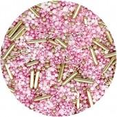 Pink Sparkles Sprinkle Mix 100g