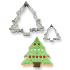 PME Christmas Tree Cookie Cutters Set/2