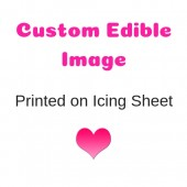 Custom Image Printed on Icing Sheet