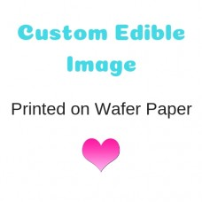 Custom Image Printed on Wafer Paper