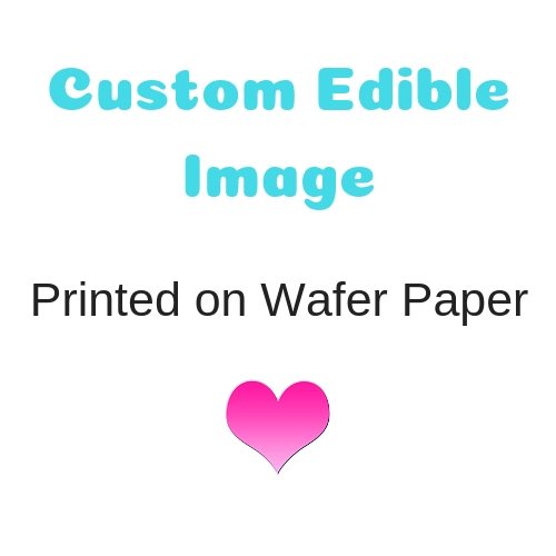 10 Packs Wafer Paper ONLY Pack of 100 sheets.