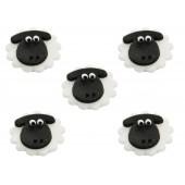 Sheep Sugarcraft Toppers Pk/5