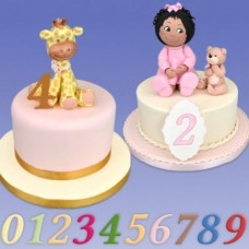 Patchwork Cutters Celebration Number Set