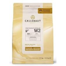 2.5kg Callebaut Belgian White Chocolate 28%