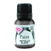 Rainbow Dust Metallic Black Paint 25ml