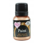 Rainbow Dust Metallic Dark Gold Paint 25ml