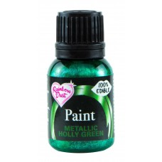 Rainbow Dust Metallic Holly Green Paint 25ml