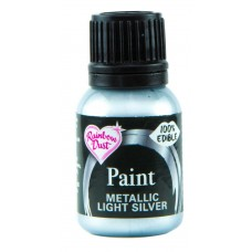 Rainbow Dust Metallic Light Silver Paint 25ml