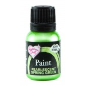 Rainbow Dust Pearlescent Spring Green Paint 25ml