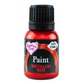 Rainbow Dust Metallic Red Paint 25ml