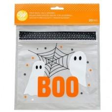 Wilton Boo Resealable Treat Bags Pk/20
