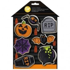 Wilton Metal Cutters Haunted House Set/7