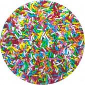 Multi-Coloured Sugar Strands 80g